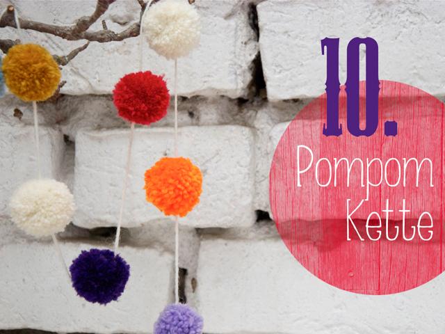 10.Pompomkette