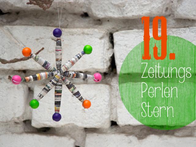19.Zeitungs_Perlen_Stern