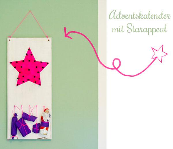 Adventskalender-Stern