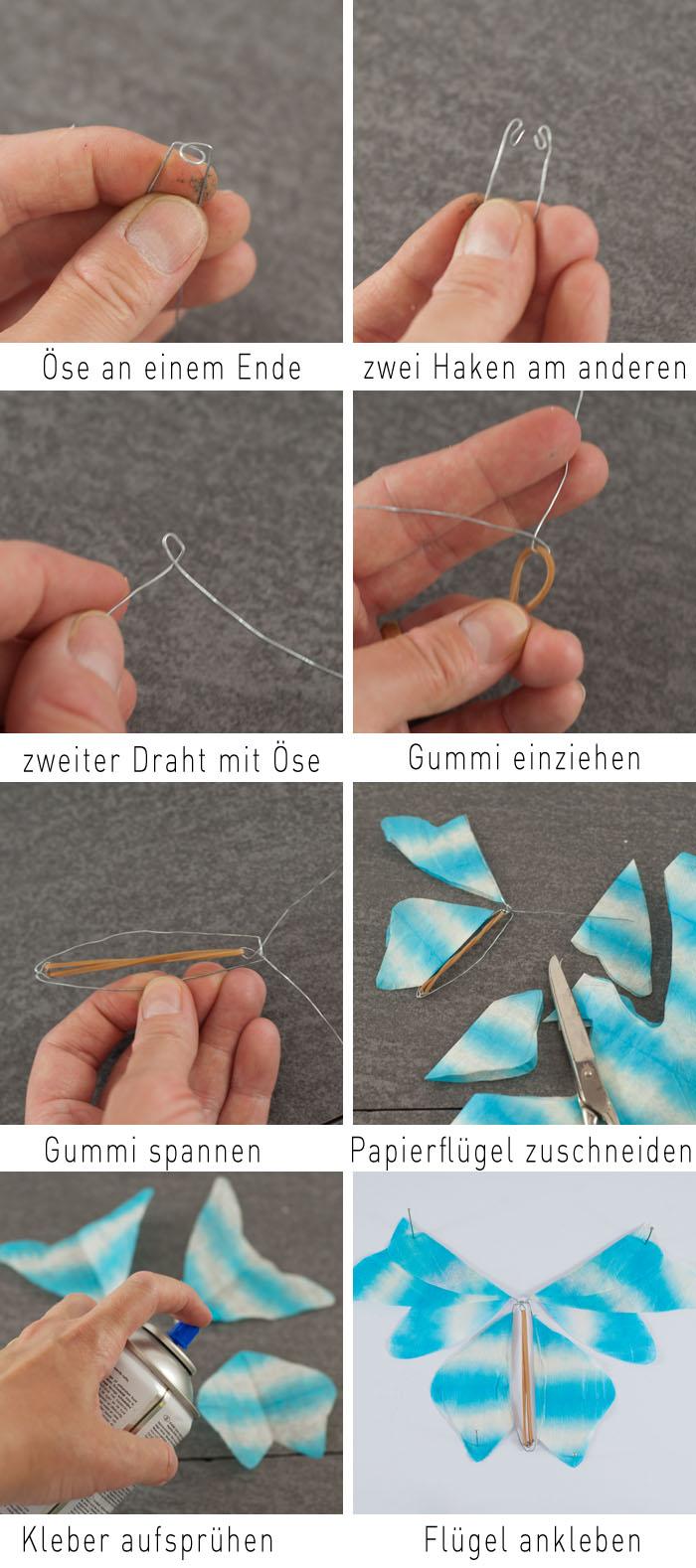 Anleitung Schmetterling