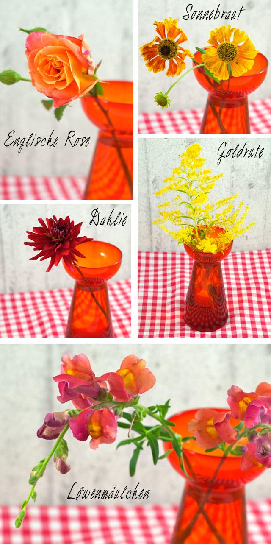 Blumenzusammenstellung