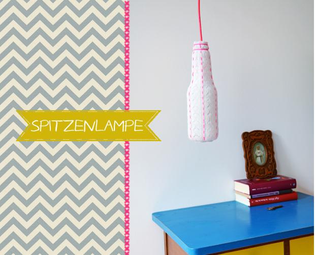 Ikea Trofast Regał Z Pojemnikami ~ DIY Tutorial für eine Spitzen Lampe