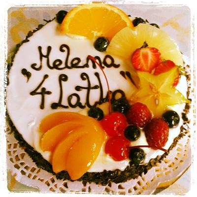 Helenas Geburtstagstorte