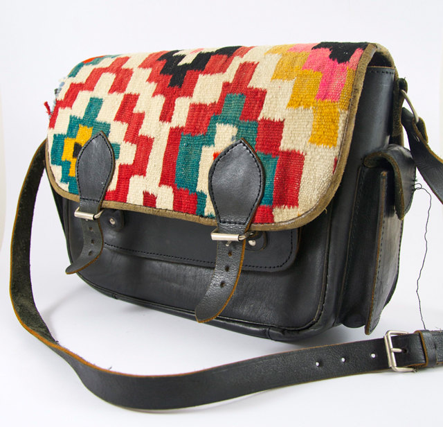Indianer Tasche im Kelim-Look