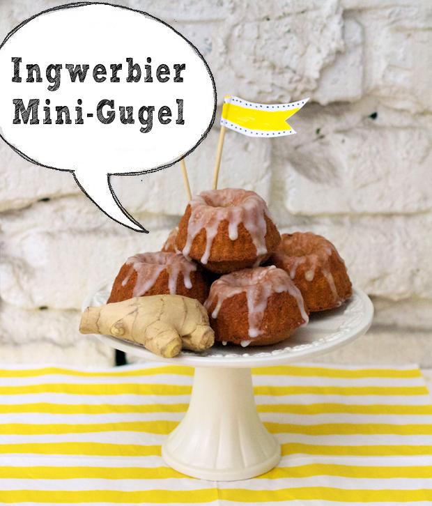 Ingwerbier-Mini-Gugel