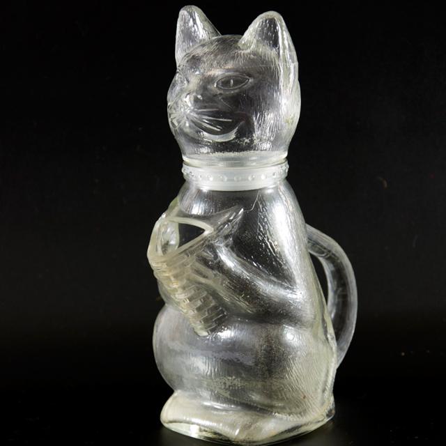 Katzenkanne aus Glas von WMF