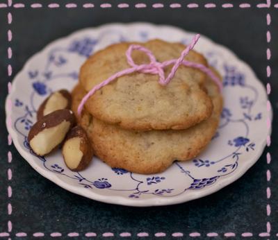 Banana-Paranut-Cookies