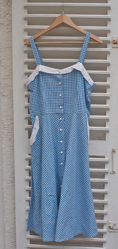 Fünfziger Jahre Hausfrauenkleid