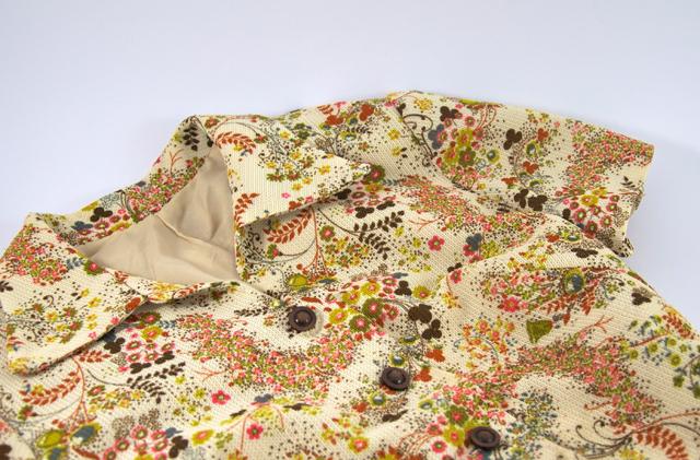 Vintage Kleid mit Blümchenmuster