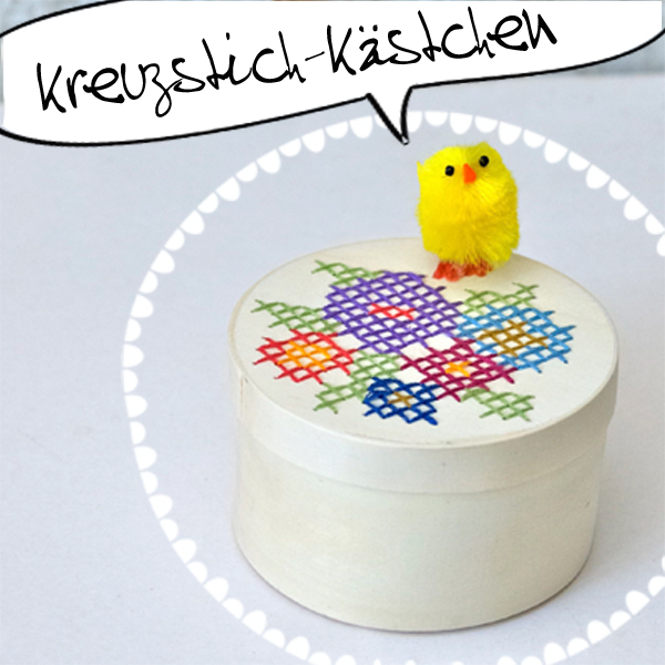 Kreuzstich-Schachtel