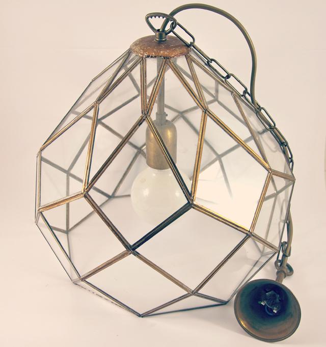 Facetten Lampe