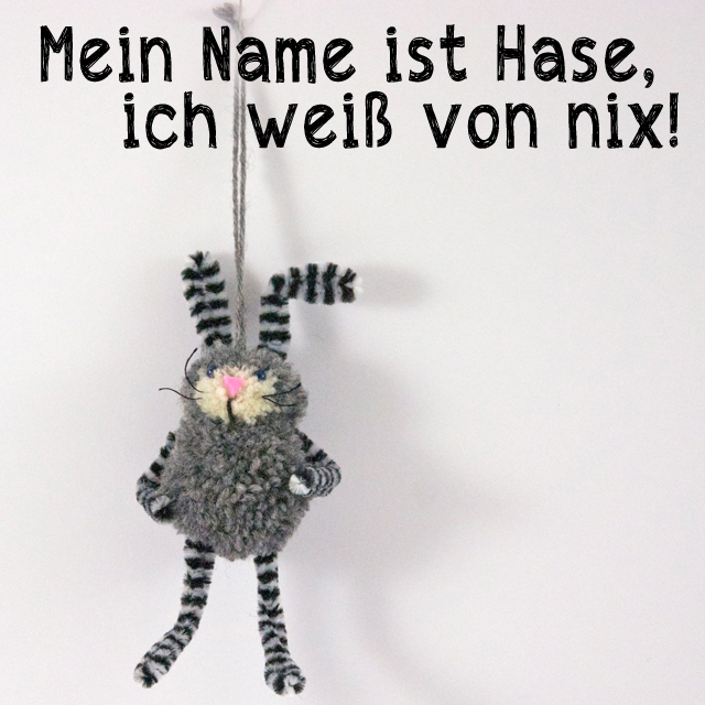 Mein Name ist Hase...