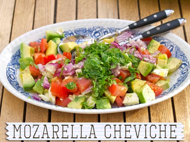 Mozarella Cheviche