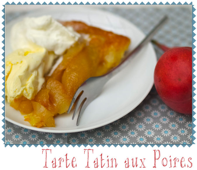 Tarte Tatin close