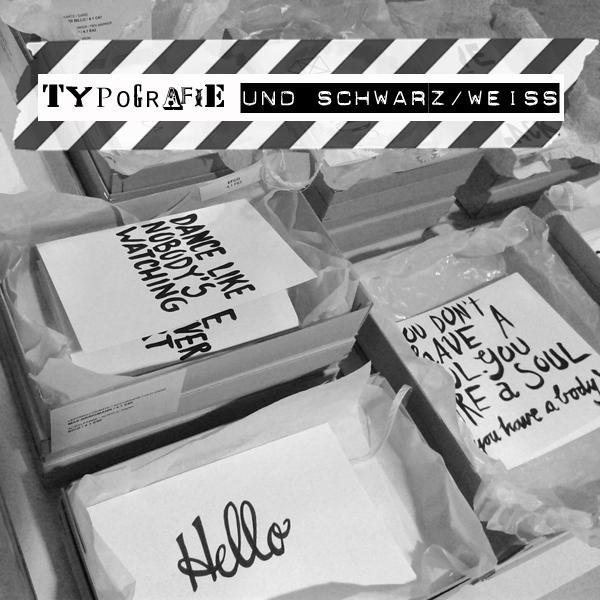 TypoTypo&schwarzweiss