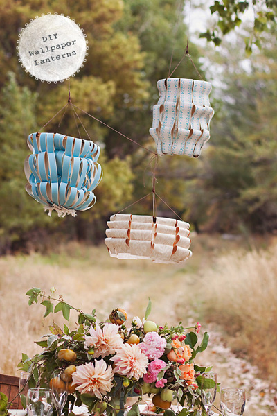diy-wallpaper-lanterns