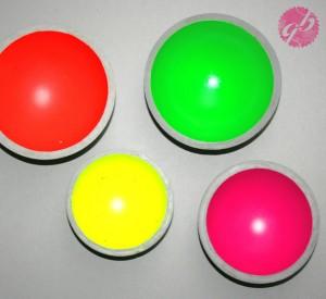 glaenzend grau neon
