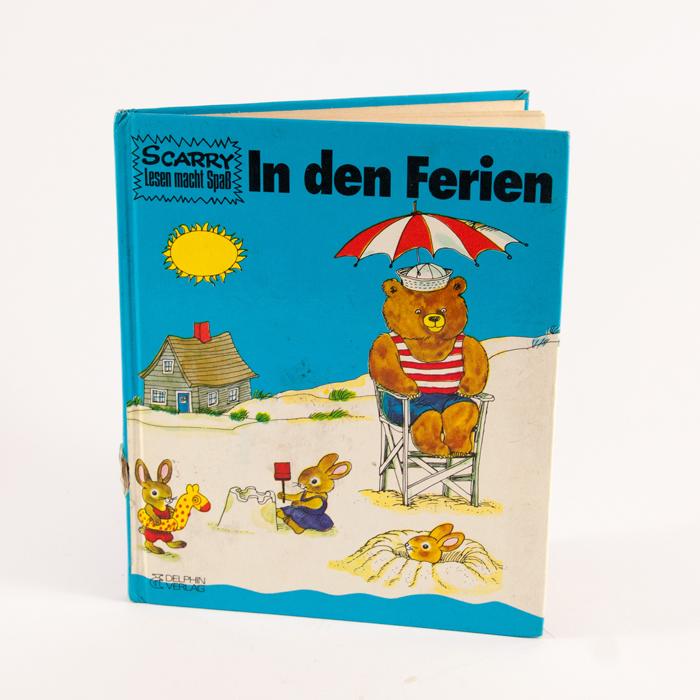 Richard Scarry Buch: In den Ferien
