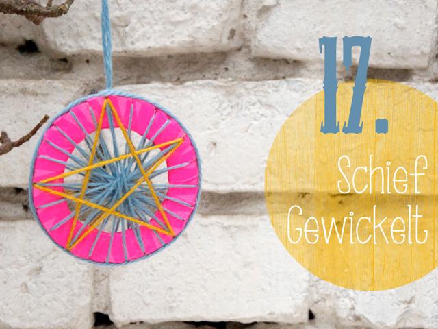 DIY-Weihnachtsbaumschmuck Adventskalender | Tag 17