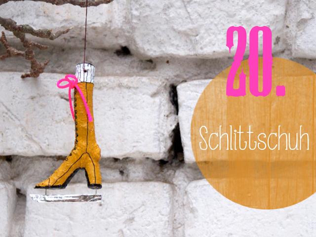 DIY-Weihnachtsbaumschmuck Adventskalender | Tag 20