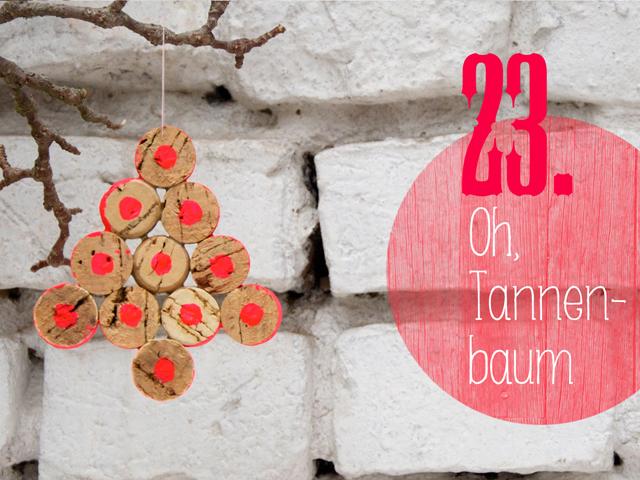 DIY-Weihnachtsbaumschmuck Adventskalender | Tag 23