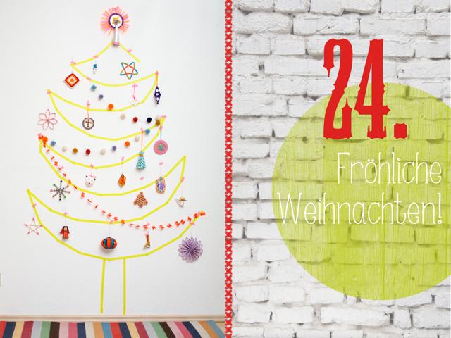 DIY-Weihnachtsbaumschmuck Adventskalender | Tag 24