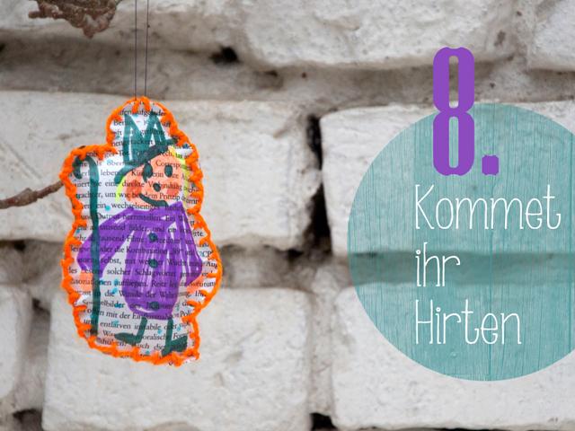 DIY-Weihnachtsbaumschmuck Adventskalender   Tag 8