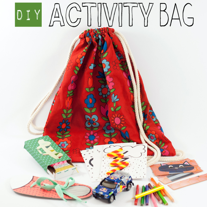 "DIY Activity Bag ""Post sponsored by Volkswagen"""