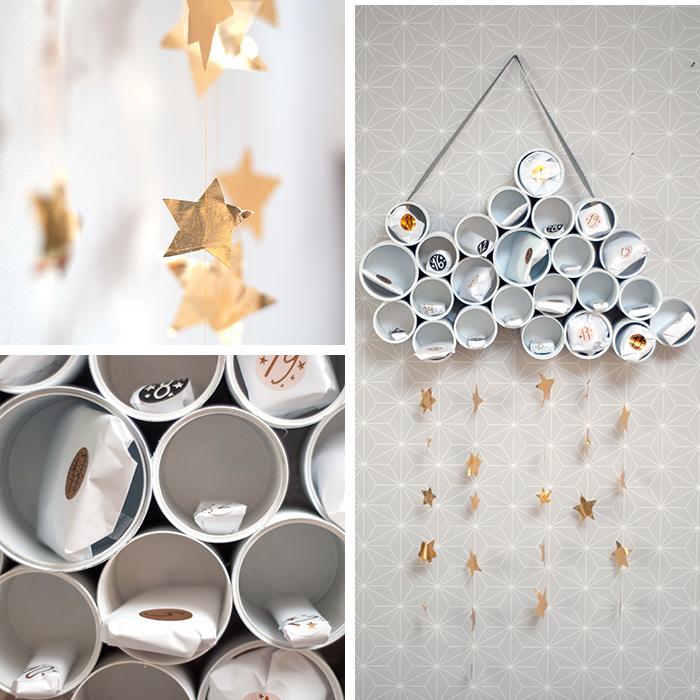 DIY Upcycling Adventskalender aus Blechdosen. Eine schöne Idee für die 24 Tage vor Weihnachten voller Vorfreude und kleiner Geschenke. Tutorial von johannarundel.de