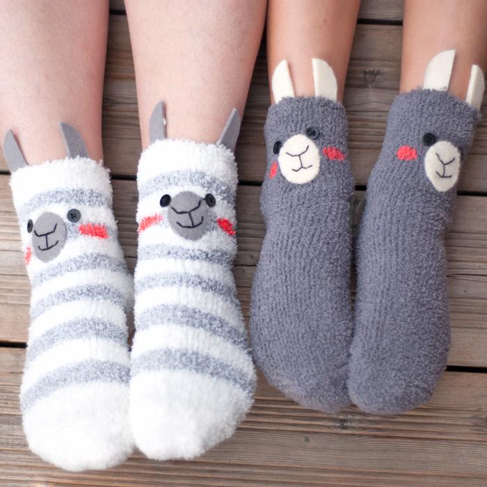 Kuschelig In Den Herbst Mit Den Diy Lama Socken