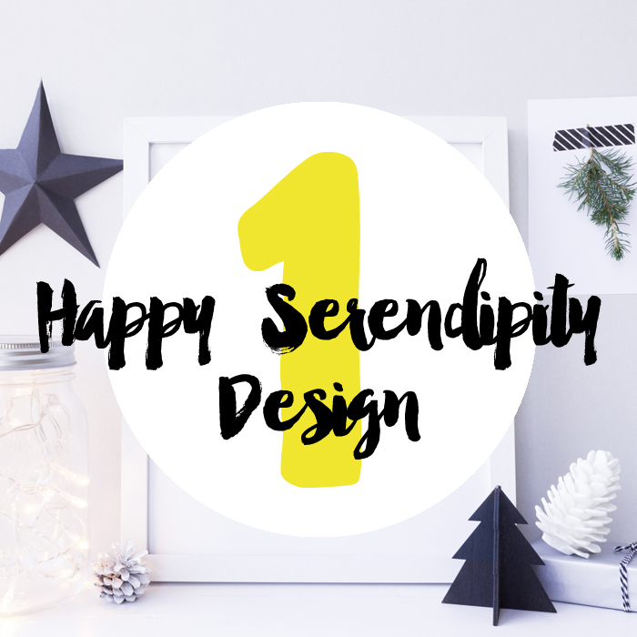 Eins : Plotter-Spass mit Happy Serendipity Design