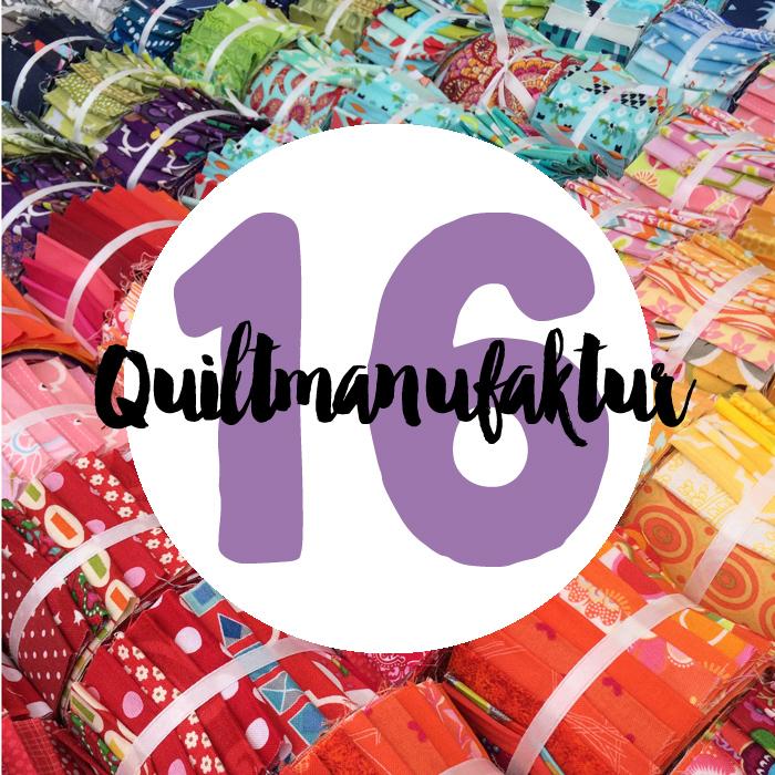 Sechzehn : Jelly Roll Party mit der Quiltmanufaktur