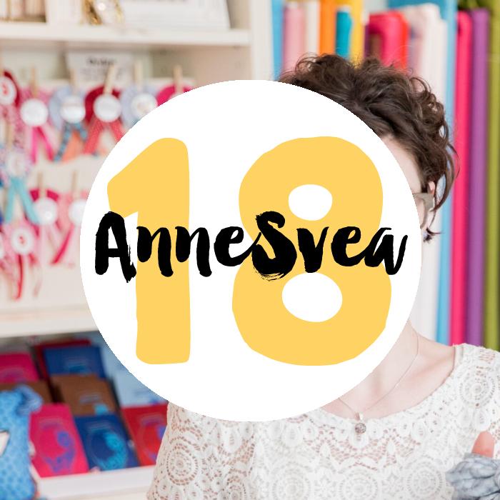 Achtzehn : Willkommen in der  kunterbunten Welt von AnneSvea