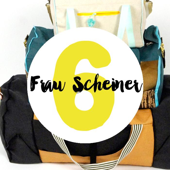 Türchen Nummer 6 mit Anita Scheiner von frau scheiner - schnitte und ideen mit der 101 Rudi Nähchallenge und dem eBook Yogini.