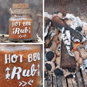Ob Steak, Hühnchen oder Gemüsespieß, mit dieser feurigen Gewürzmischung wird jedes Gericht zum Liebling des Grillmeisters. Und das Beste daran – er wird seine Bruzzelergebnisse bestimmt mit dir teilen! Nomnom.