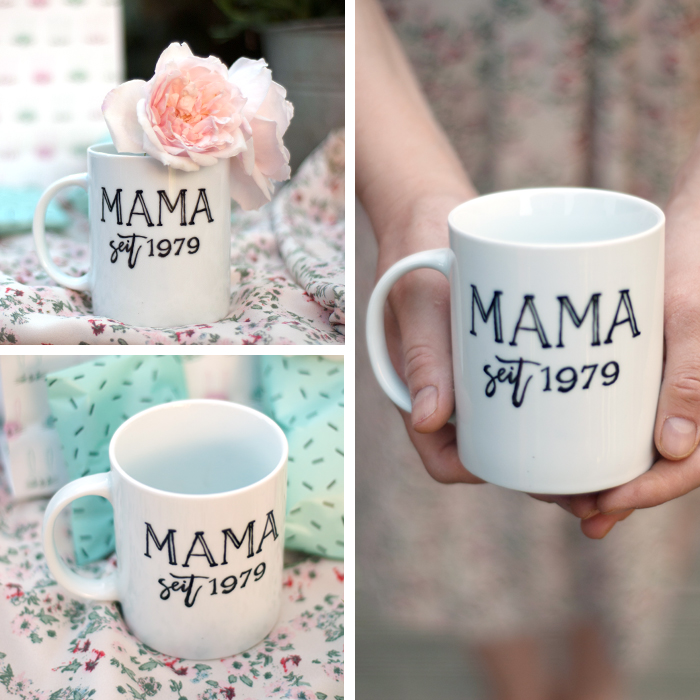Mit dieser ganz persönlichen Tasse machst du deiner Mama zum Muttertag bestimmt eine Riesenfreude! Mit meiner Vorlage ist sie schnell gemacht und du hast super schnell ein ganz individuelles Geschenk gebastelt! Das Tutorial findest du auf johannarundel.de