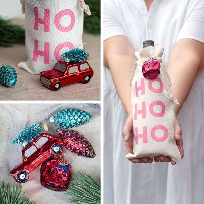 Dieses Jahr packe ich unsere Geschenke in DIY-Geschenkbeutel ein. Mit den weihnachtlichen Plotter-Designs zum Aufbügeln sehen die selbstgenähten Gift-Bags richtig schön festlich aus! Die Beutel lassen sich klein zusammenfalten und für den nächsten Einsatz platzsparend verstauen! Super, oderv