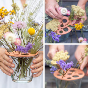 Trockenblumen sind gerade voll im Trend! Damit sie in der Vase richtig zur Geltung kommen, kannst du sie mit meinem DIY Blumenverteiler luftig arrangieren. Außerdem zeige ich dir, welche Blumen sich zum Trocknen eignen. Auf johannarundel.de