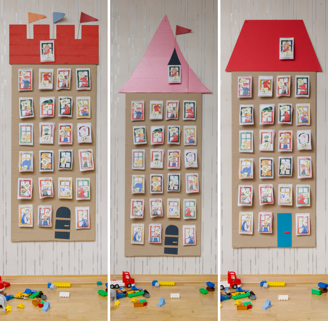 DIY LEGO DUPLO Adventskalender