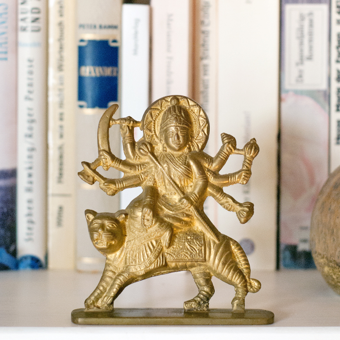 Durga_Figur_Messing
