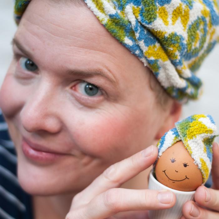 DIY Haarturban – oder eine Kopfbedeckung für zwei Eierköppe
