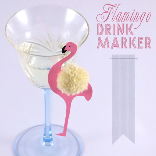 Flamingo Drink Marker – jedem seinen eigenen komischen Vogel!