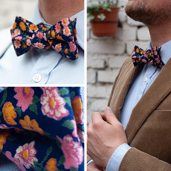 Ob Hochzeit, Konfirmation, Taufe oder ein runder Geburtstag – diese selbst genähte Fliege machte jedes Männer-Outfit ausgehfein. Anleitung und kostenloses Schnittmuster auf johannarundel.de