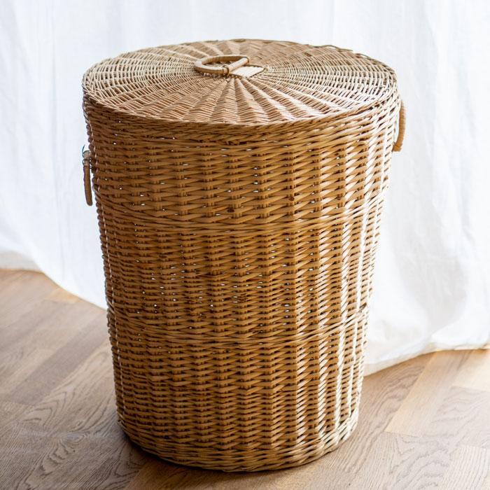 Flohmarktfund: Großer Wäschekorb aus Rattan