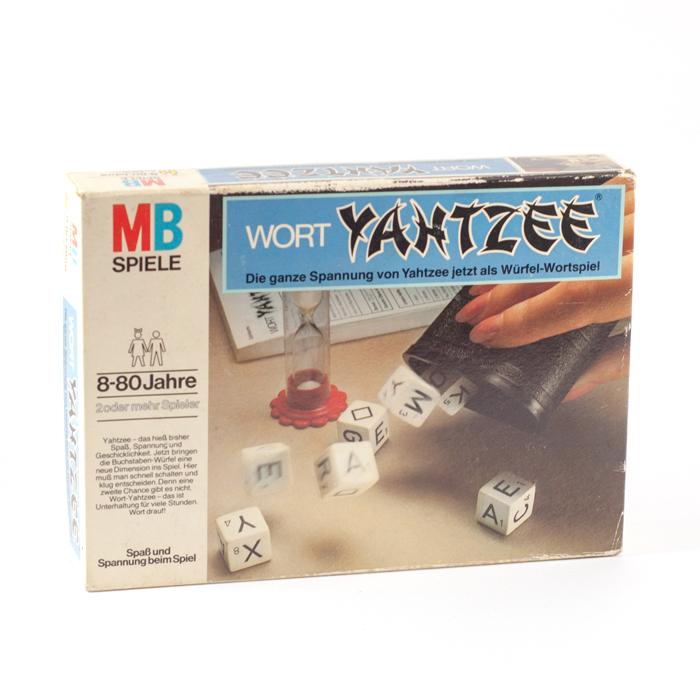 Flohmarktfund: Spiel Wort-Yahtzee