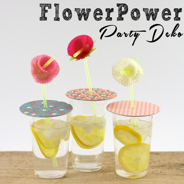 Flower Power Partydeko für den Mai