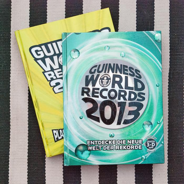 Flohmarktfund: Guinessbuch der Rekorde 2009 und 2013
