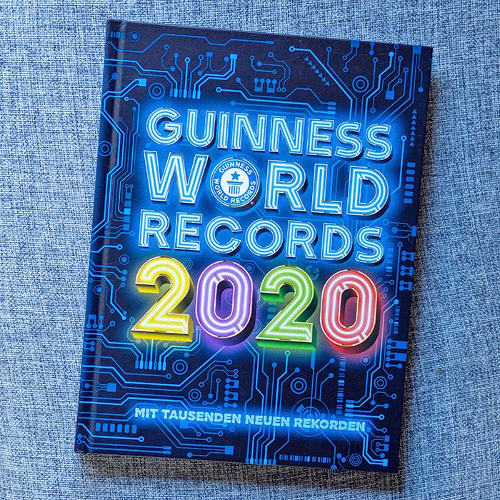 Flohmarktfunde: Guinnessbuch der Rekorde 2020