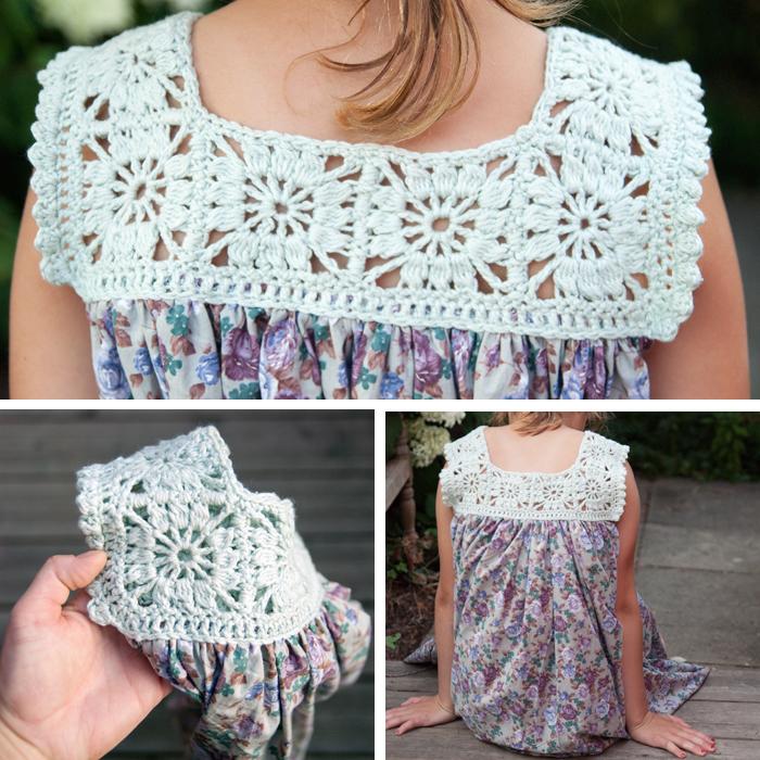 DIY Sommerkleid mit Häkelpasse und Stoffrock - romantisch, luftig, leicht - und schnell selbst gemacht. Ein DIY von johannarundel.de