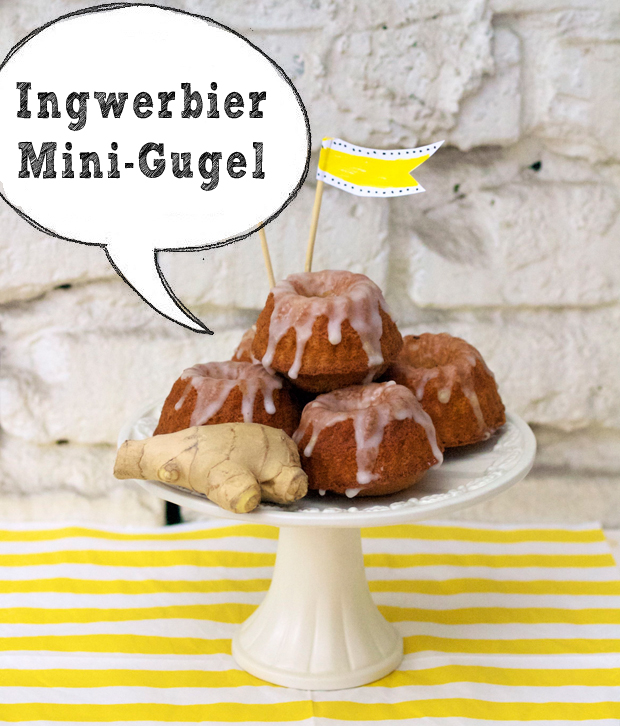 Köstliche Ingwerbier-Mini-Gugelhupfe